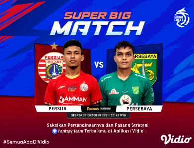 Live Streaming Liga 1, Persija Lakoni Duel Panas Lawan Persebaya