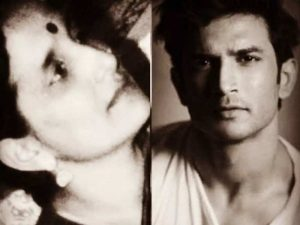 Sushant Singh Rajput and his Mother Usha Singh