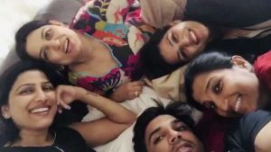 Sushant Singh Rajput with his Sisters