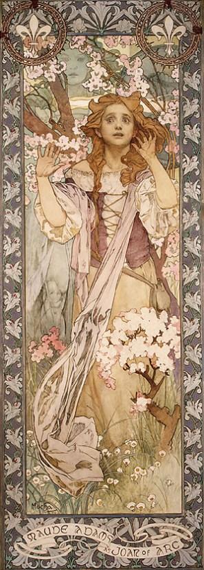 Mucha-Maud_Adams_as_Joan_of_Arc-1909