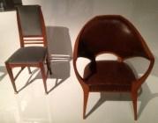 Chairs by Henry van de Velde