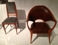 Chairs by Henry van de Velde