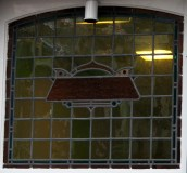 Wijnhaven 7, Delft, Stained glass