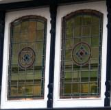 Wijnhaven 7, Delft, Stained glass