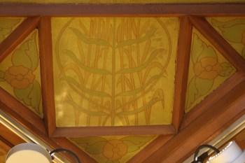 Spuistraat 274, Amsterdam - ceiling with bundle of ears