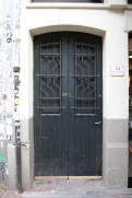 Spuistraat 274, Amsterdam - wrought iron door