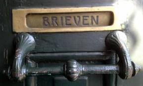 Art Nouveau mailbox