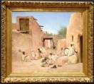 Maurice Bompard (Rodez 1857 - Paris 1936) - Une rue de l'Oasis de Chetma