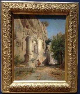 Jules Laurens (Carpentras 1825 - Saint Didier 1901) - Tete de voie romaine en Bithynie
