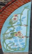 Villa des Gladets - detail tile panel