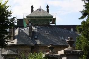 Villa des Gladets - tent shaped roof