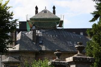 Villa des Gladets - tent shaped roof
