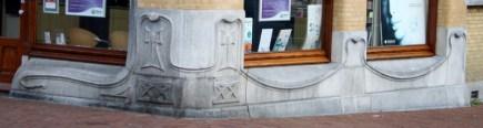 Stone carvings of Centraal Apotheek Leeuwarden