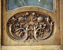 Door Panel at Cafe de l'Opera - La Rambla