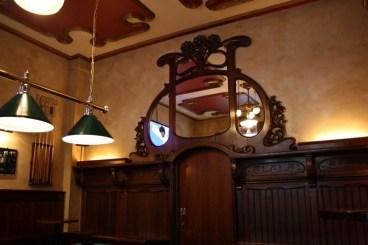 Original interior of Molly's Irish Pub
