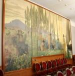 Painting by Joaquim Vancells at Casa Alegre de Sagrera