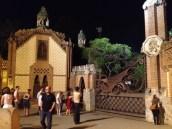 Dragon Gate at the Güell Pavilions