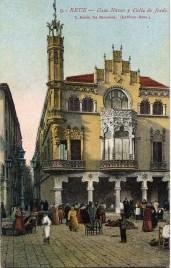 Casa Navas Old Postcard
