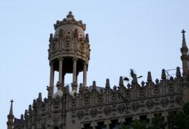 Casa Lleó i Morera Facade with Tempietto