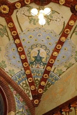 Tile Panel Pere Mata Pavilion 6 Reus Ceiling
