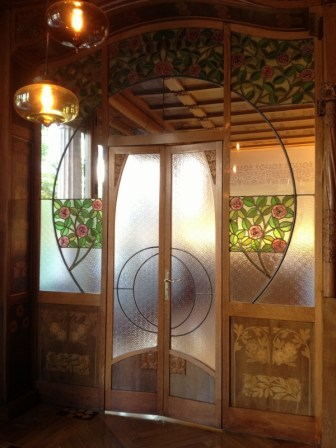 Casa Lleó i Morera Stained Glass Doors