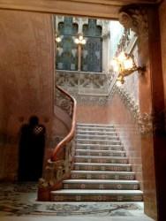 Staircase Casa Navàs by Lluís Domènech i Montaner
