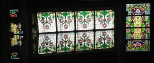 Stained Glass Casa Navàs by Lluís Domènech i Montaner