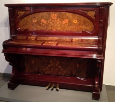 Museu del Modernisme Barcelona Piano Marquetry