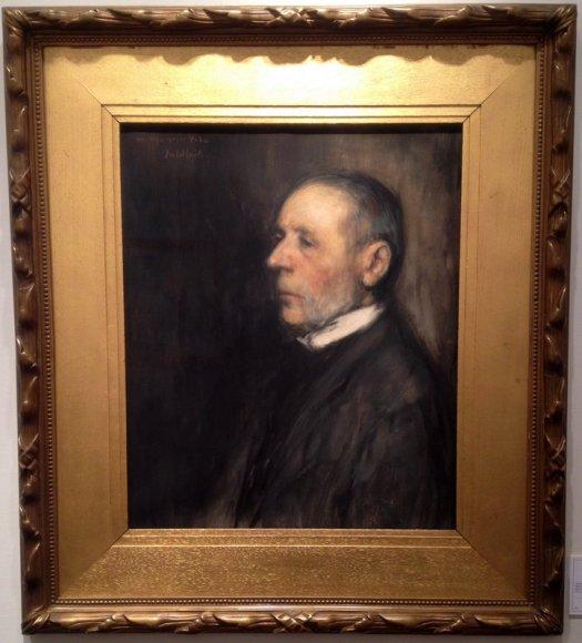 Aan mijn goede vader, Jacob Smits, Lancz Gallery (BRAFA 15d)