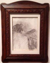 Femme Endormie, James Ensor, Lancz Gallery (BRAFA 15d)