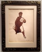 Ecolier au Ballon, 1917, Léon Spilliaert, Lancz Gallery (BRAFA 15d)