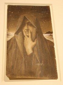 Le Silence 1895, Lucien Levy Dhurmer (BRAFA 50a)