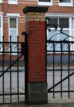 Gabbema-gasthuis art nouveau wrought iron gate