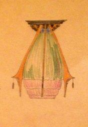 Design for lamp Dick Greiner 1920