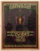 Poster exhibition Decoratieve Ontwerpen 1917