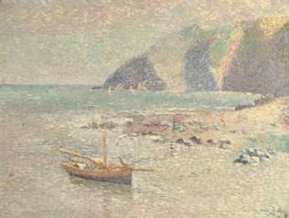 1888 Jan Toorop - Mer calme (Devonshire)