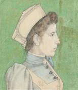 1894 Jan Toorop - Nelly Goudhaar