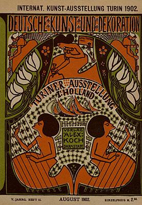 1902 Jan Toorop - Deutsche Kunst und Dekoration