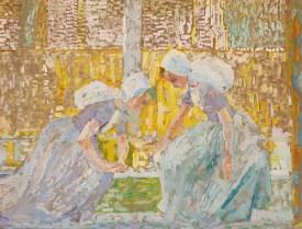 1908 Jan Toorop - Zeeuwse meisjes