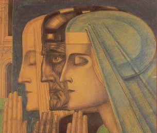1924 Jan Toorop - The Prayer