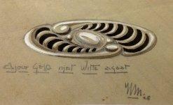 clasp design Hendrik Methorst 1928