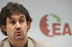 Peio Urizar, Secretario general de EA