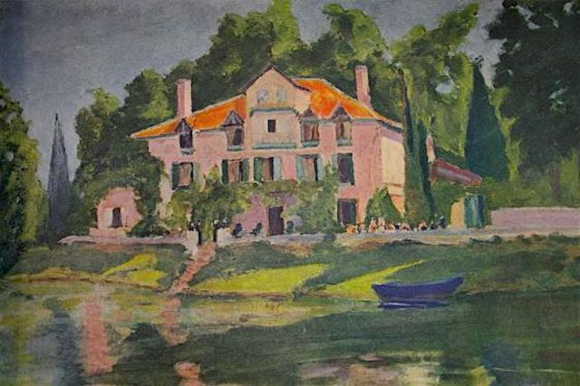 """Villa on the Nivelle"" Winston Churchill"