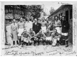 The Basque National team, 1937, in the midst of the Spanish Civil War