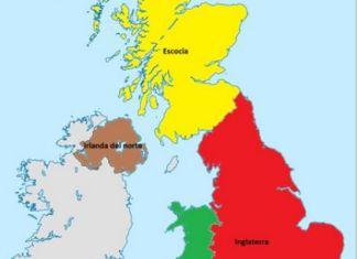 Algunas de las realidades nacionales que componen el Reino Unido de la Gran Bretaña