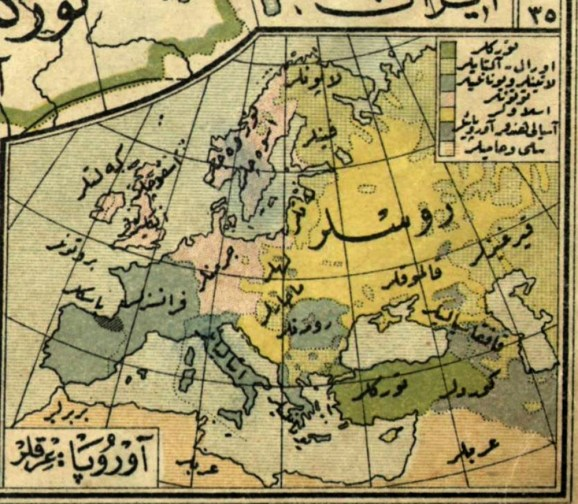 Euskera-mapa-turco