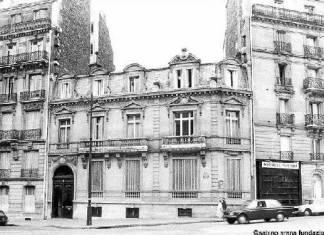 Edificio comprado por EAJ-PNV, cedido como sede del Gobierno Vasco en el Exilio, incautado por los nazis, entregado al Gobierno de Franco y nunca devuelvo a sus legítimos propietarios