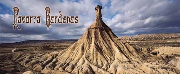 Una de las imágenes más representativas de las Bárdenas de Navarra