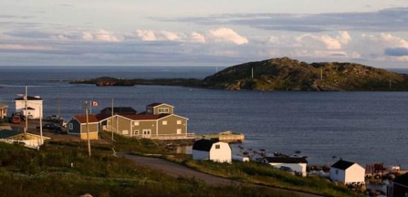 Imagen de Red Bay, la ubicación de la Estacion Ballenera Vasca en Labrador