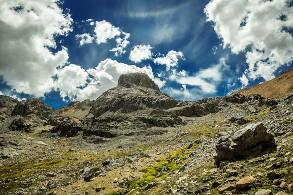 Euzkadi Peak, in the Chilean Andes (photo by Eugenia Paz)